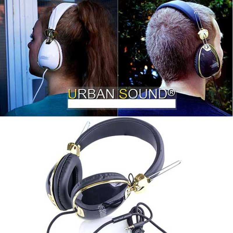 Urban Sound On-ear Kinder Retro Kopfhörer