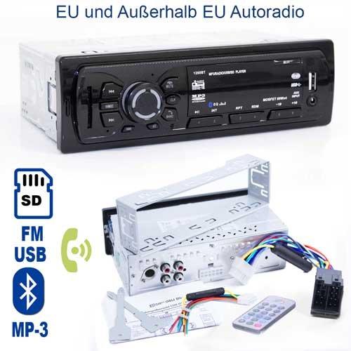 Autoradios, die der heutigen Technologie entsprechen